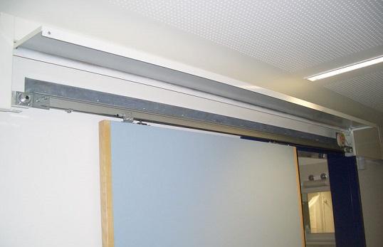 Sliding Door Closer prevents energy loss in Data Center
